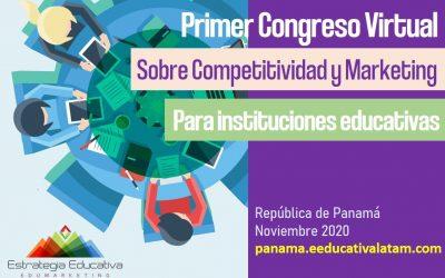 El I Congreso sobre Competitividad y Marketing para Instituciones Educativas de Panamá se aplaza para el mes de noviembre de 2020